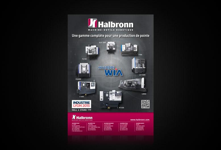 Halbronn® - Annonce Presse - Format A4